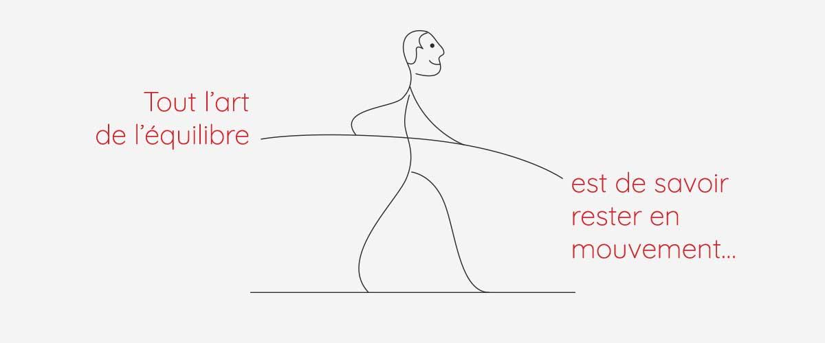 Tout l'art de l'équilibre